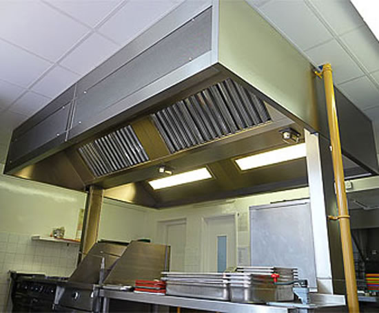 Kitchen Canopy Systems Midtherm Engineering Esi