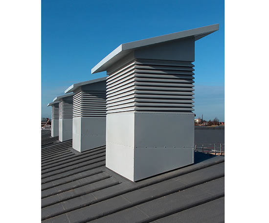 Building Ventilation System : Windvent nv ps natural ventilation system midtherm