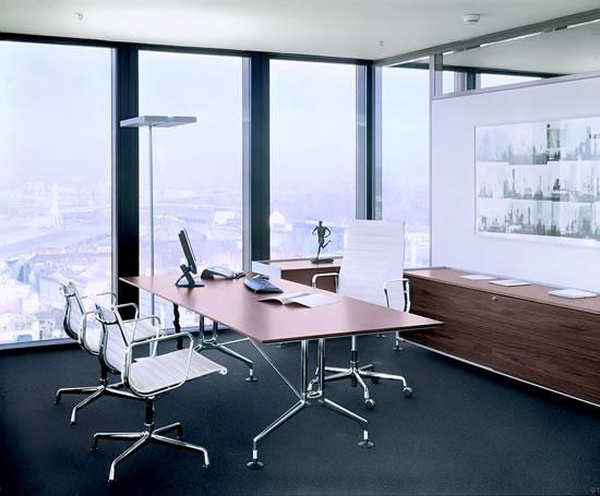 Vitra aluminium chairs momentum contract furniture esi for Office design vitra