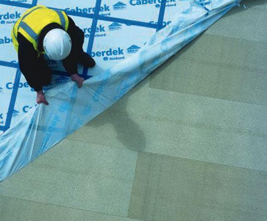 Caberdek Peelable Film Protected Chipboard Flooring