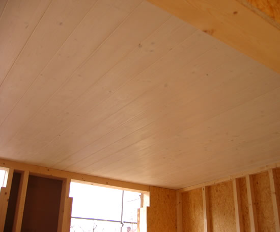 Expresselements Spruce Glue Laminated Ceiling Components