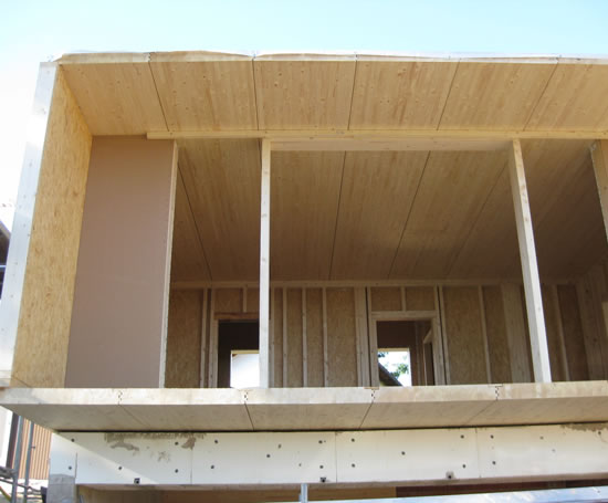 Load Bearing Capacity Laminated Beams ~ Expresselements spruce glue laminated wall components