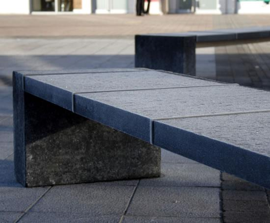 S66 Granite Limestone And Stainless Steel Bench Omos