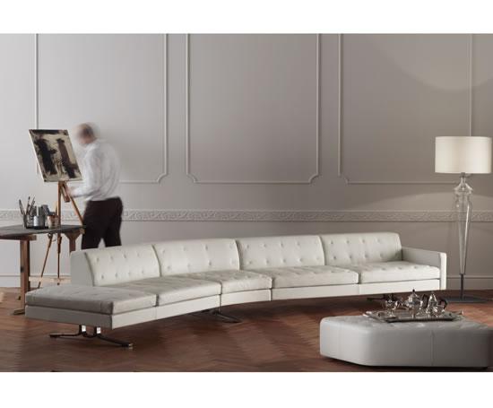 Kennedee sofa | Poltrona Frau UK | ESI Interior Design