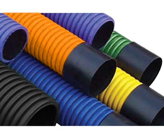Ridgiduct lightweight twin-wall cable protection system  sc 1 st  External Works & Ridgiduct twin-wall HDPE cable protection duct | Polypipe Civils ...