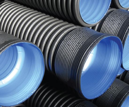 Ridgidrain hdpe pp advanced drainage system pipes