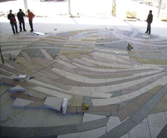 Natural Stone Art : Art at the centre slough high street improvement scheme
