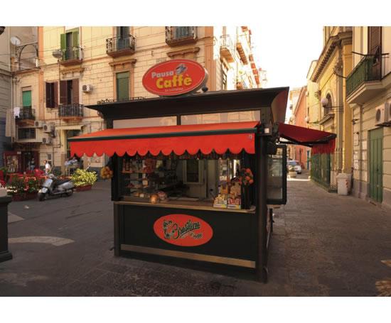 Steel Custom Built Coffee And Food Kiosks Prestige