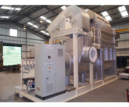 Thermal oxidiser and process heater, Dickinson Legg