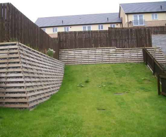 Timbalok Timber Crib Retaining Wall Ruthin Precast