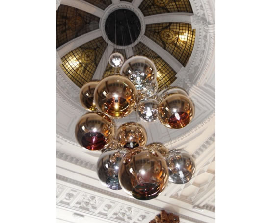 Rs7530019 gold and silver glass orb pendant lighting r s rs7530019 gold and silver glass orb pendant lighting r s robertson esi interior design mozeypictures Gallery