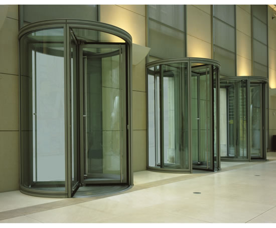 Karussell automatic revolving door record uk esi