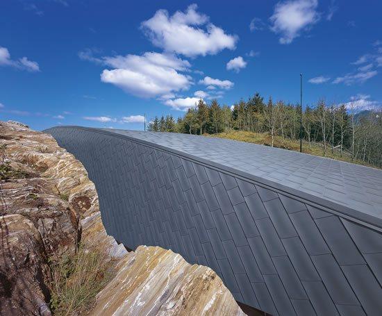 Flat-lock roof tiles