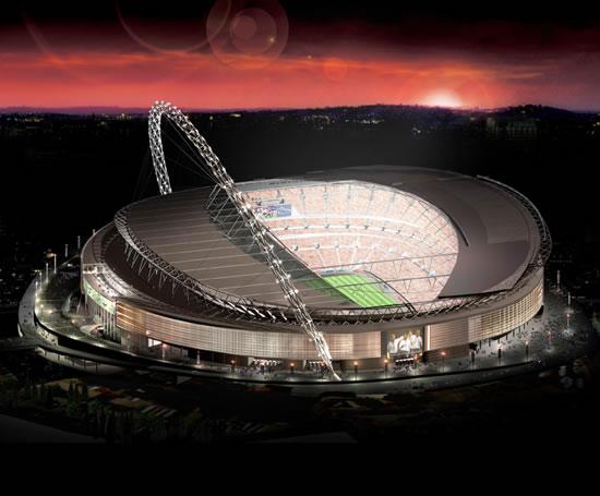 Ziplok Aluminium Standing Seam Roofing Wembley Stadium