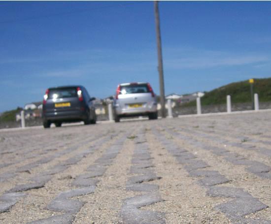 Cellular Concrete Solutions : Grasscel cellular concrete paving ruthin precast