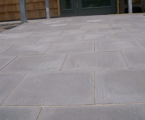 Precast Concrete Pavers : Standard pimple textured concrete pavers ruthin precast