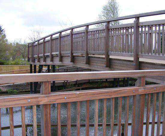 Laminated Timber Beam Bridges Sarum Hardwood Structures