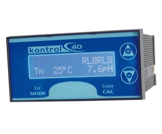 kontrol pr40 ph  redox and conductivity meter