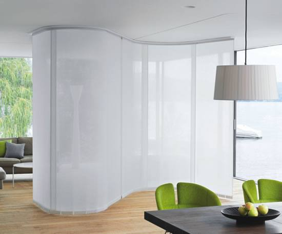 Room Divider Cubicle Shower Rail System Silent Gliss