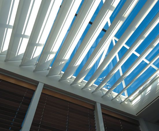 In System Skylights : Skylight shading systems silent gliss esi interior design