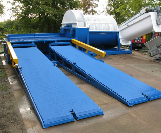 Road Gully Waste Separation System Siltbuster Esi