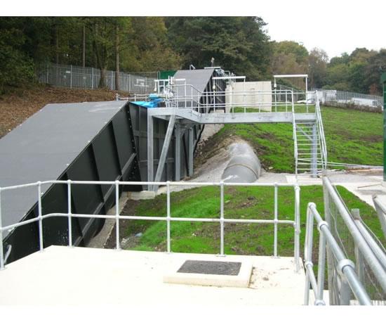 Two-stage screw generator, Esholt WwTW