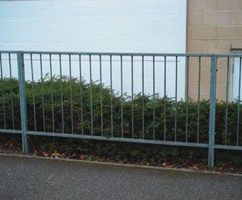 Standard galvanised mild steel panel