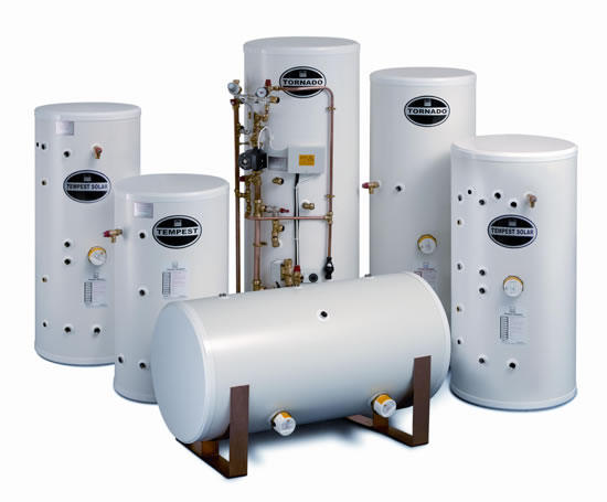 Telfords stainless unvented cylinders