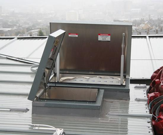 Single Door Roof Hatches Access Panel Company Esi