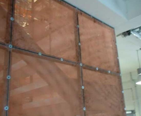 Interior Metal Wall Panel : Expanded mesh interior wall panels metal