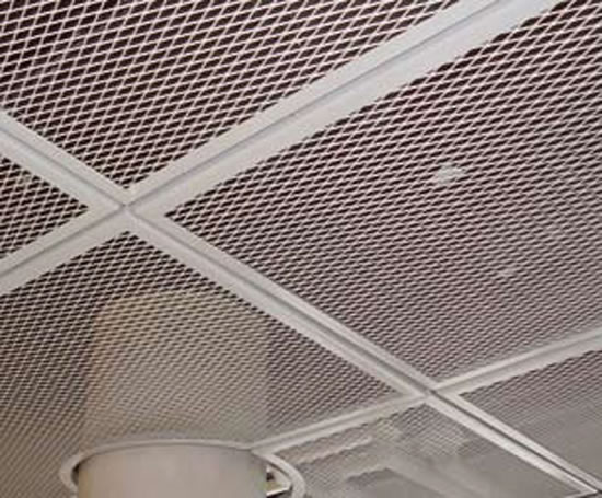 Expanded Mesh Ceiling Panels