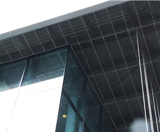 Expanded Metal Panels : Expanded mesh ceiling panels metal company