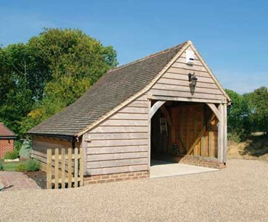 Lean To Shed Share Timber Frame Garage Planning Permission