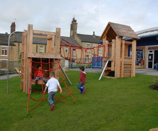 Developmental play area, St Edmunds Nursery School