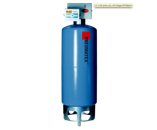 Pneumatex Compresso pressurised vessel