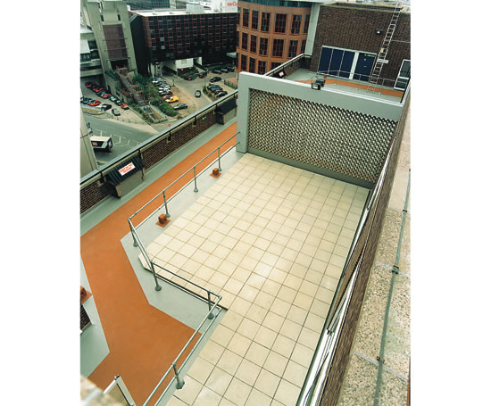 Balcony and terrace waterproofing triflex esi building for Terrace waterproofing