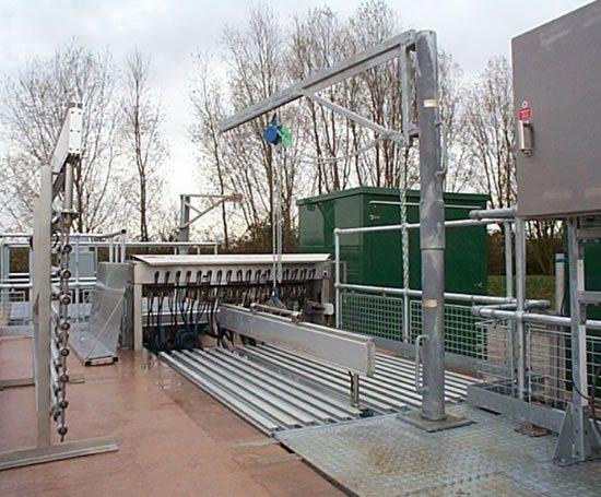 Trojanuv3000plus Wastewater Disinfection System Trojan