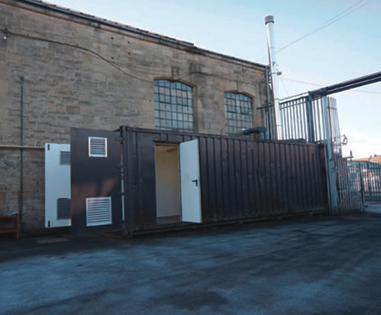 Containerised boiler houses | Turnbull & Scott (Engineers) | ESI ...