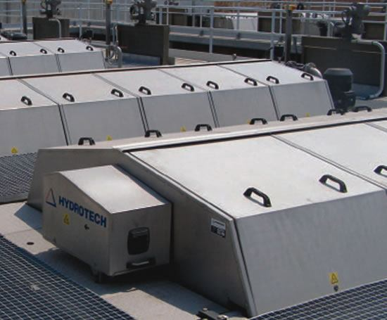 Modular Hydrotech discfilters
