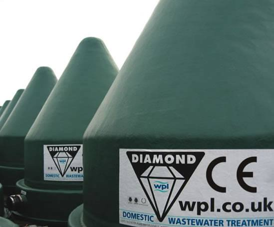 Diamond packaged sewage treatment plants