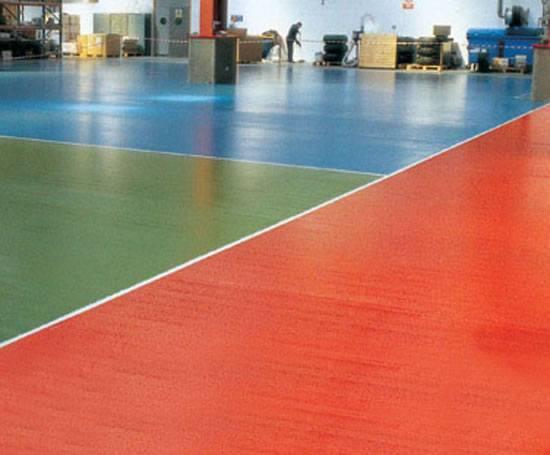 Epoxy Gloss Coat Decorative Industrial Floor Coating