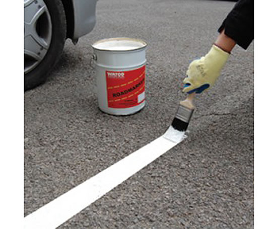 Roadmarker Paint For Bare Concrete Or Asphalt Floors