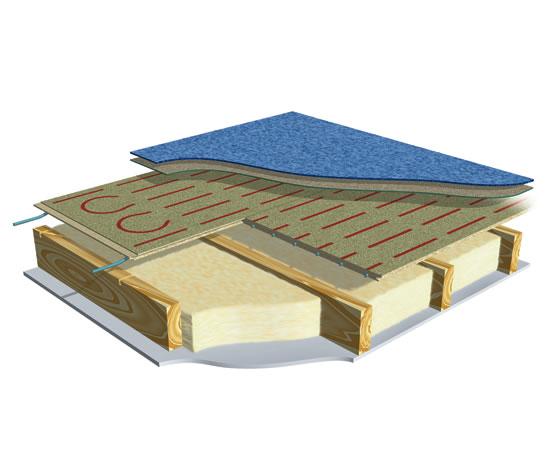 Modular ufh system for timber floors wavin esi for Modular wood flooring