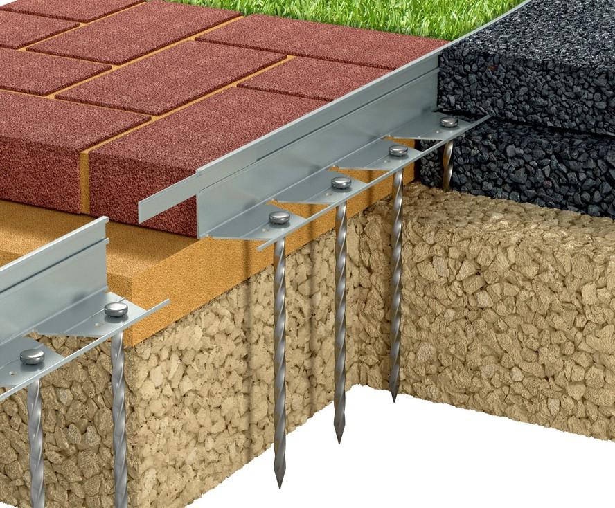 StableEDGE flexible aluminium landscape edging