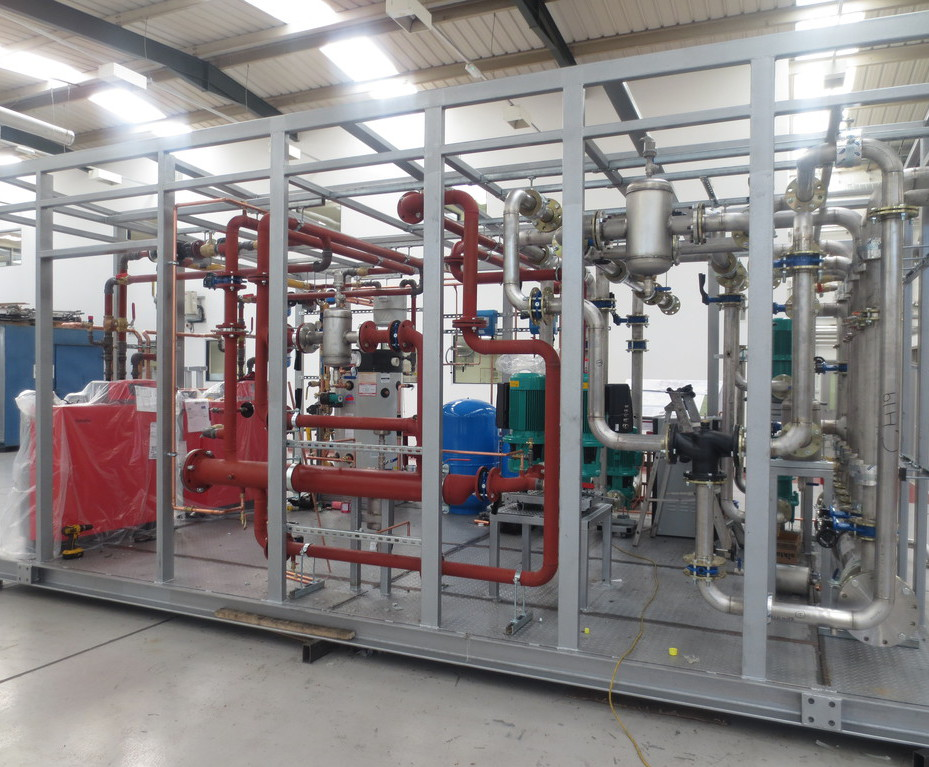 Packaged combination boiler plant room for Waitrose | Constant Air ...