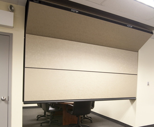 Skyfold zenith vertical-rising automatic partition & Skyfold Zenith vertical-rising movable wall | Style Door Systems ...