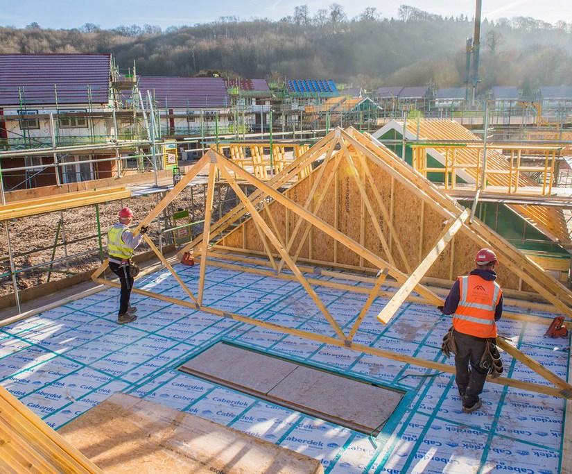 CaberDek flooring for Army Basing Programme housing