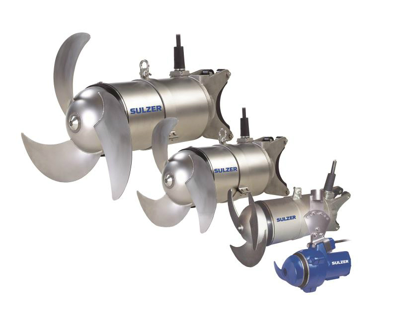 ABS RW submersible mixers