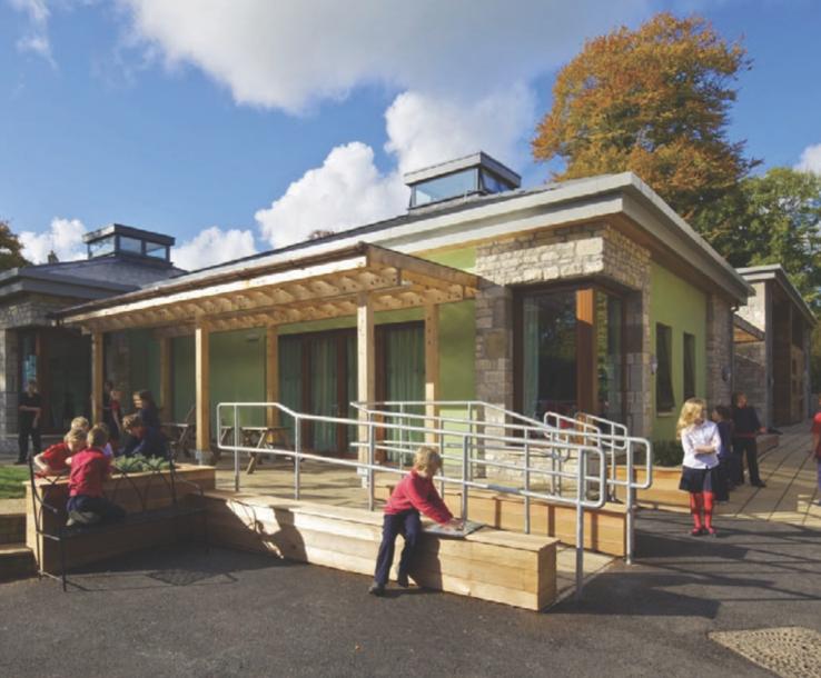 Refurbishment of Batheaston Primary with aircrete blocks | H