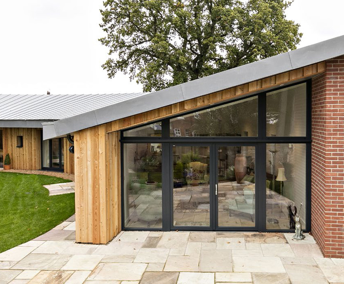 Passivhaus-standard home built with aircrete blocks